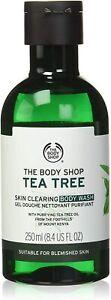 The Body Shop Tea Tree Skin Clearing Body Wash 250ml Body Acne Treatment