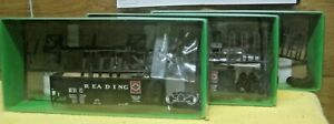 HO SCALE 55 TON FISHBELLY HOPPER BOWSER MFG. READING R.R. ANTHRACITE LOGO #10703