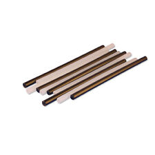 5 Black and 5 Clear P-Tex PTex Rods