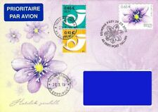 Estonia 2019 (08) Flower - The Liverleaf (fdc)