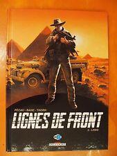 Lignes de Front. Tome 3. LRDG. Pécau-Bane & Thorn. Delcourt