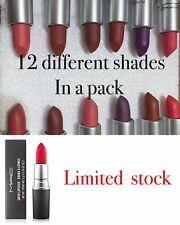MAC Matte Lipstick (12 In Box)