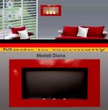 Gel y Etanol Chimenea Fireplace Cheminee Camino Caminetti Modelo Diana Rojo