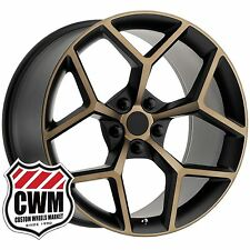20 inch 20x9 OE Performance 126BB Chevy Camaro Z/28 Z28 Black Bronze Wheels Rims