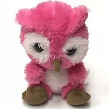 Build a Bear BABW Smallfrys Small Frys Plush Stuffed Pink Owl