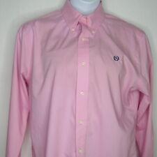 Lauren Ralph Lauren Slim fit Long Sleeve Pink Dress Shirt Logo Embroidery 26 1/2