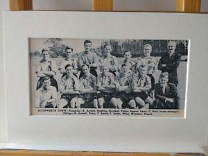 Amateur football team print  LETCHWORTH TOWN FOOTBALL CLUB