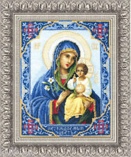 EMBROIDERY COUNTED CROSS STITCH KIT CHARIVNA MIT 314 ICON OF THE MOTHER OF GOD