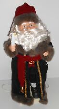 Matrix ANIMATED SANTA CLAUS Father Christmas 24 Inch Lighted Trim A Home in Box