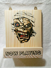 HANDMADE  -  ''NOW PLAYING STAND''   WALL HANGING