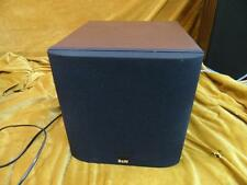 B&W asw 608  subwoofer, small ,approx a 1 foot cube 200 watts 40hz and up