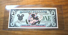 "1989 DISNEY DOLLAR - $1. - MICKEY SERIES ""D"" - Mint Condition"