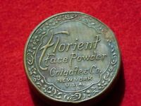 VINTAGE AD FLORIENT FACE POWDER COLGATE CO NEW YORK USA TIN