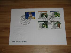 Schweiz - Ersttagsbrief Pro Juventute 1992