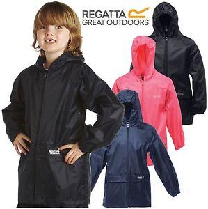 REGATTA CHILDRENS WATERPROOF JACKET STORMBREAK KIDS BOYS GIRLS CHILDS RAIN COAT