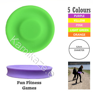 Frisbee Flexible Mini Soft Flying Disc Outdoor Training Gravity Game Throw Disc