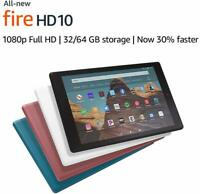 "All New - Amazon Fire HD 10 - Tablet Only - 10.1"" Display, 32GB - Brand New!"