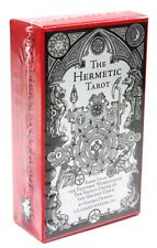 Authentic Hermetic Tarot Deck, 78 cards, Occult Magic Alchemy Divination