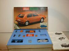 SCHUCO 225 005 METAL KIT VW VOLKSWAGEN GOLF - ORANGE 1:43 - UNBUILT IN BOX