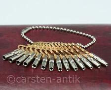 Set von 14 Spindeluhr Schlüssel Taschenuhrschlüssel Gr.0-12 Aufziehschlüssel Uhr
