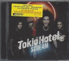 TOKIO HOTEL / SCREAM + BONUS TRACKS - US IMPORT * NEW CD 2008 * NEU *