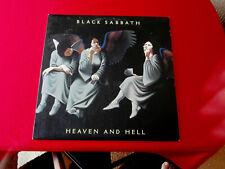 Black Sabbath~ Heaven And Hell~ Near Mint~ W . B Records ~Rock