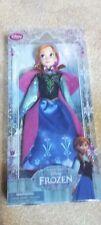 Disney Store Frozen Anna Classic Doll NEW IN BOX