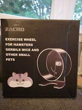 Zacro Hamster Exercise Wheel 8.7� Silent Running Wheel for Hamsters Open Box