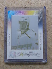 09-10 UD The Cup Masterpieces Printing Plates MICHAEL DEL ZOTTO 1/1 YELLOW
