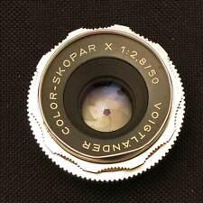 Voigtlander Color-Skopar X 2.8/50 mm pour Bessamatic
