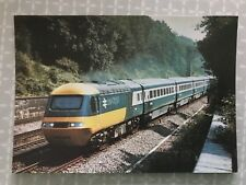 Inter City 125 Set, British Railways, Valenta Diesel, NRM Postcard
