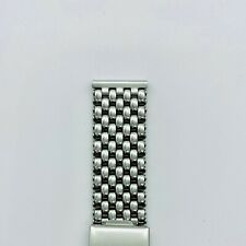 The Classic Beads of Rice Bracelet - Fixed Ends, Polished Finish, 18mm
