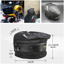 Waterproof Motorcycle Rear Back Seat Bag Load Helmet/Shoes/Clothes/Laptop/Phone