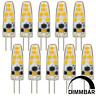 MENGS® 10Pcs G4 3W LED Corn Light Bulb Dimmable AC/DC 12V Cool White 6500K SMD