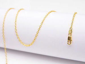 "1PCS Wholesale 30"" nice 18K Yellow GOLD Filled Rolo CHAIN NECKLACES For Pendant"