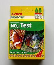 Sera Nitrit Test  NO2  für Süß- und Meerwasser Wassertest