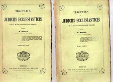 tractatus de judiciis ecclesiasticis ubi et de vicario generali episcopi