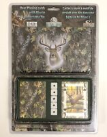 Bone Collector Card and Dice Tin Gift Set AGT1017 Kids Adults Mossy Oak Game