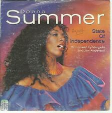 45 TOURS 2 TITRES / DONNA SUMMER STATE OF INDEPENDENCE