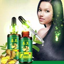 2PCS Hair Loss Treatment Ginger Hair Care Growth Essence Oil For Men Women 30ml