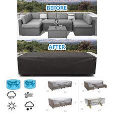 More details for waterproof garden furniture cover patio rattan table seat hammock bbq outdoor uk