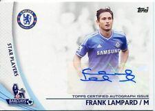 Topps Premier Gold Football 13/14 Autograph SP-FL Frank Lampard