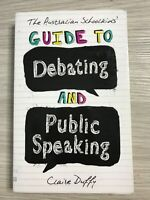Australian Schoolkids' Guide to Debating and Public Speaking Book Education