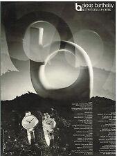 Publicité Advertising 1974 Les Montres Alexis Barthelay