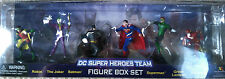 DC SUPER HEROES TEAM FIGURE BOX SET Flash Joker Batman Green Lantern Robin