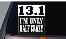 """13.1 Half Marathon Decal Sticker Running 10k 6"""" Sticker *A010*"""