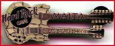 Hard Rock Cafe MALTA 2000 Grand Opening GO DN Grotto GUITAR PIN - HRC #5258