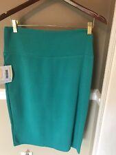 NWT Lularoe Womens Cassie-XL Skirt Green