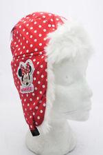Disney Minnie Mouse Children's Red Winter Fleece Hat