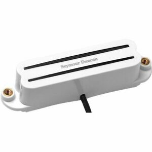 Seymour Duncan SHR-1b Bridge Hot Rails for Strat Guitar Pickup White 11205-02-W